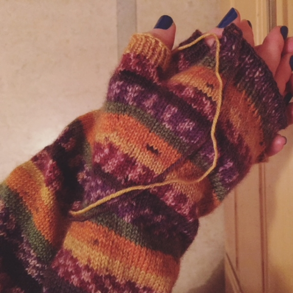 Fingerless Mitts (November 2017)
