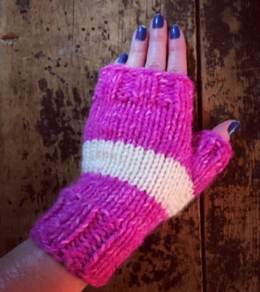 Fingerless Mitts (December 2017)