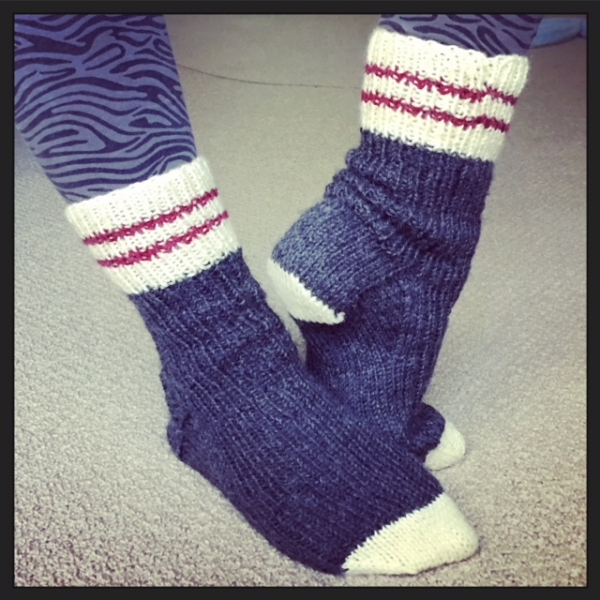 Sock Monkey Socks (November-December 2017)
