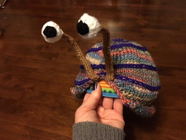 Snail Tea Cosy (January-February 2018)