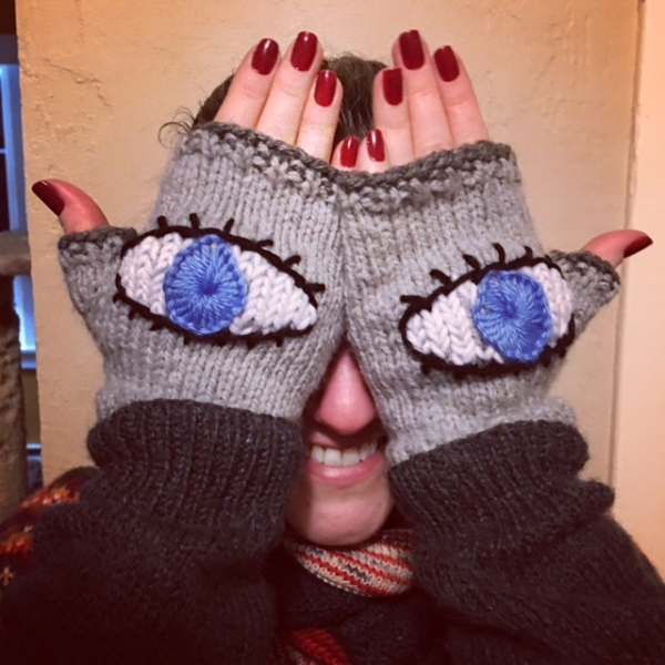 Evil Eye Gloves (February 2018)