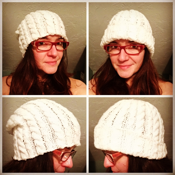 Cable Experiment Hat (May 2017)