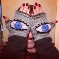 Evil Eye Gloves (February 2018)