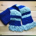 Ravenclaw Scarf (April-May 2018)