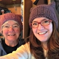 pussyhats #1 and #3 on me and my mom