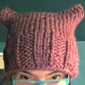 pussyhat #3 for my mother
