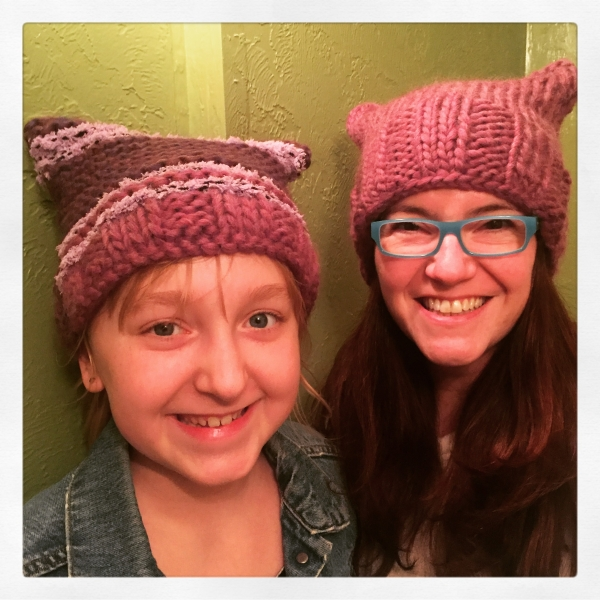 pussyhats #2 and #3